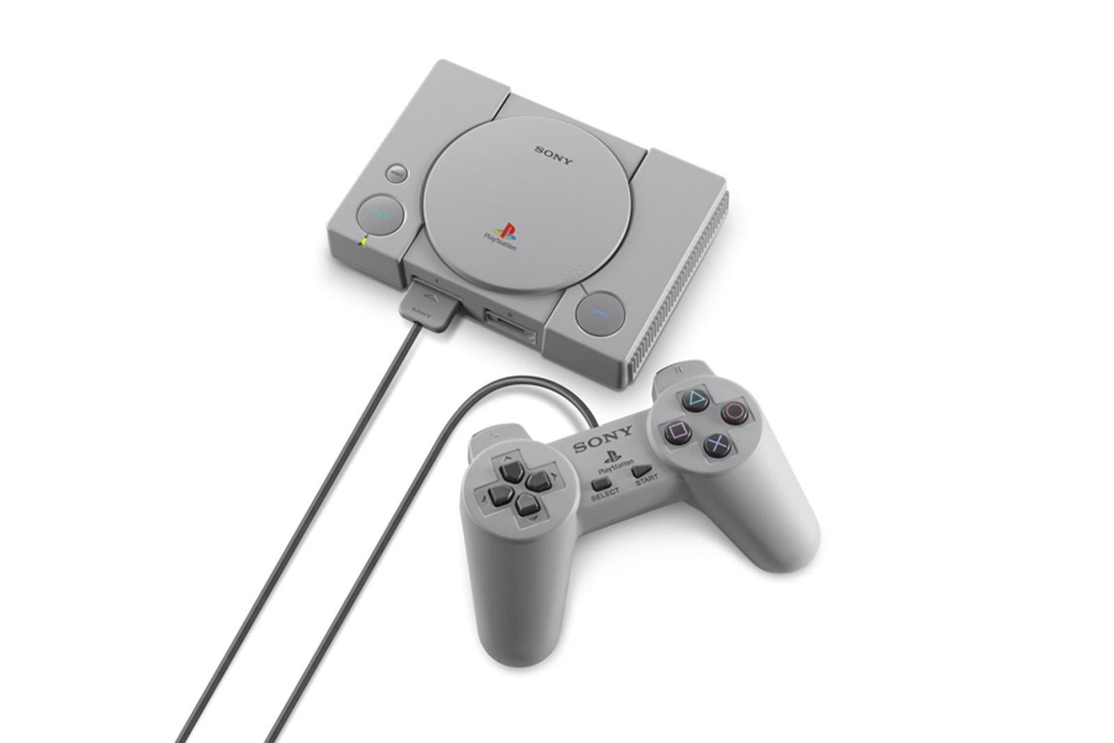 索尼推出PS1复刻版PlayStation Classic,12月初限量发售