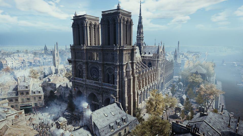 育碧捐赠50万欧元重建巴黎圣母院 《大革命》限时免费