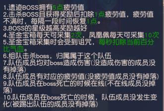 集光物语遗迹boss攻略-多服共斗其乐无穷-集光物语官网攻略