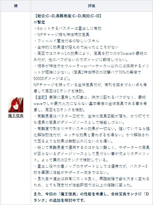 FGO织田信长
