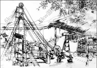 趣历史明朝石油井